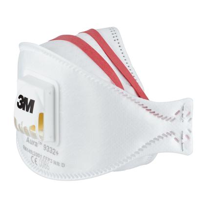 3M fijnstofmasker Aura FFP3 met ventiel