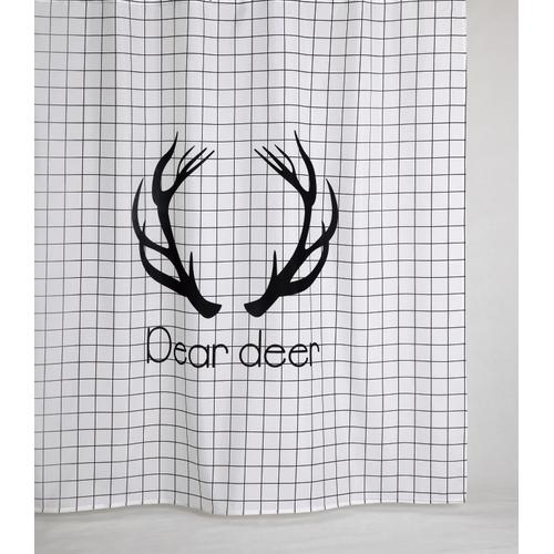 Allibert douchegordijn Dear polyester 180x200cm