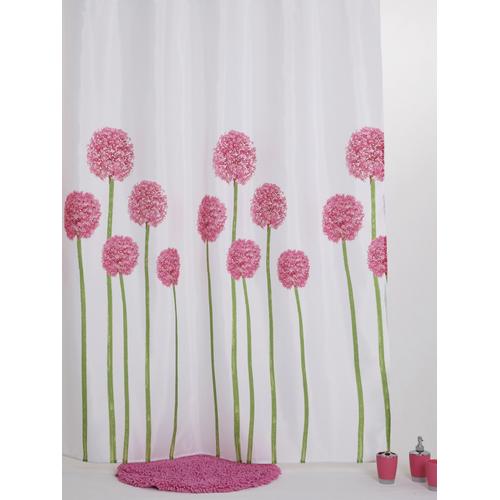 Allibert douchegordijn Blossom polyester 180x200cm