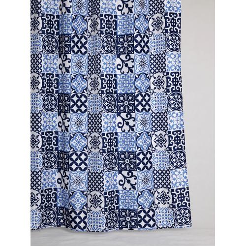 Allibert douchegordijn Mozaic polyester 180x200cm