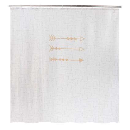 Allibert douchegordijn Pijlen polyester 180x200cm