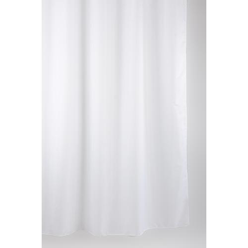 Allibert douchegordijn Albin polyester wit 180x200cm