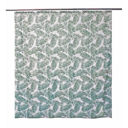 Allibert douchegordijn Oural groen polyester 180x200cm