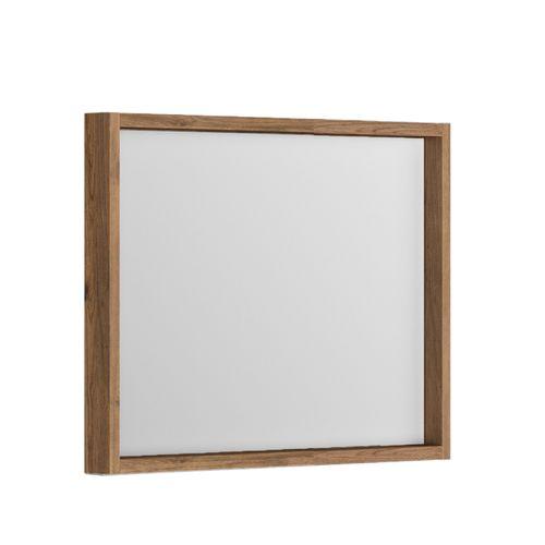 Allibert spiegel Sorento met kader 80cm eik cognac