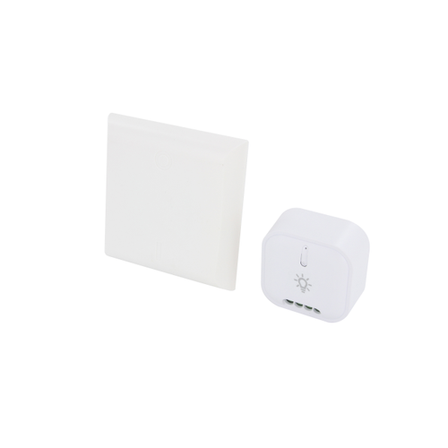 Interrupteur DiO sans fil blanc + module on/off