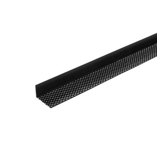 Dumaclin ventilatieprofiel zwart 2,5m