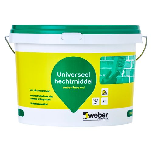 Weber hechtmiddel Flevopol universeel wit 5L