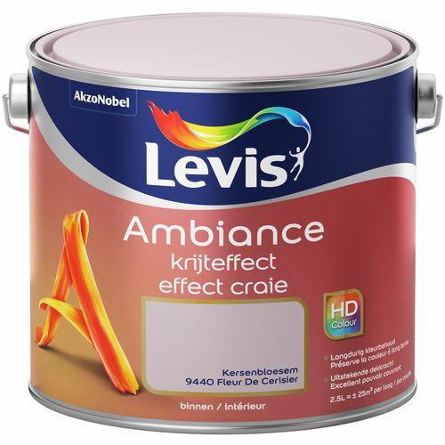 Levis verf Ambiance krijteffect kersenbloesem mat 2,5L