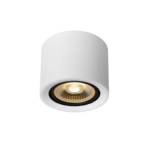 Lucide plafondlamp LED Fedler rond wit 12W