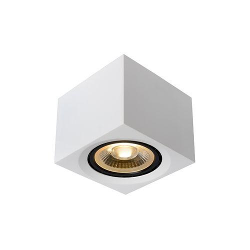 Lucide plafondlamp LED Fedler vierkant wit 12W