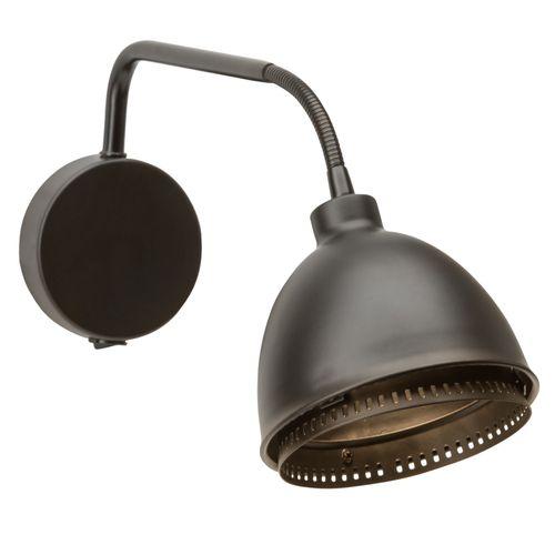Brilliant wandlamp Skirt zwart G9