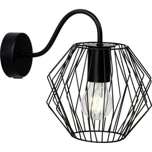 Brilliant wandlamp Noris zwart E27