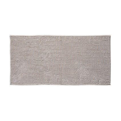 Tapis de bain Future Home Fani ivoire polyester 60x120cm