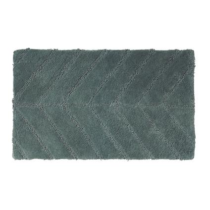 Tapis de bain Future Home Garnier vert pin coton 50x80cm