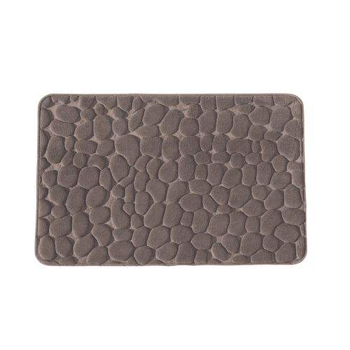 Future home badmat Mineral taupe 50x80cm polyester