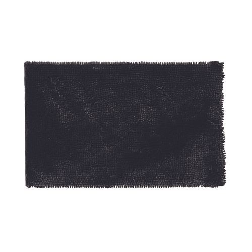 Future home badmat Shiny zwart 50x80cm polyester