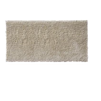 Tapis de bain Future Home  Shiny ivoire polyester 60x120cm