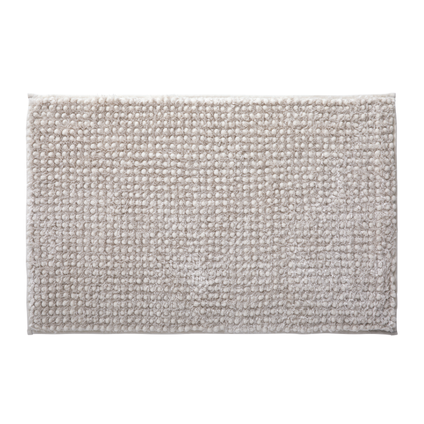Tapis de bain Future Home Softy ivoire polyester 50x80cm