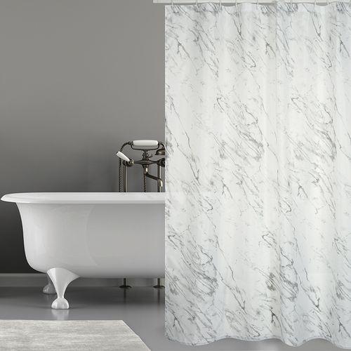 MSV douchegordijn Tuscany grijs 180cm