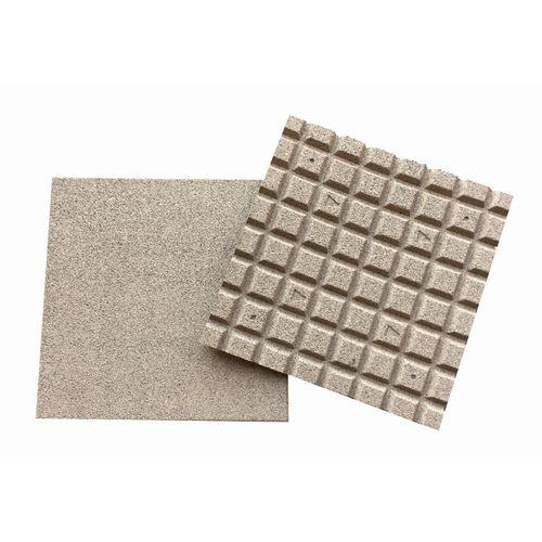Décor rubbertegel zand 50x50x2,5cm