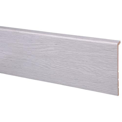 Plinthe flexi CanDo grise en chêne 130x18mm