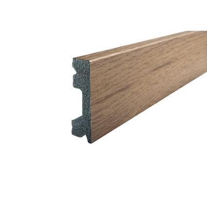 Kunststof plint CW934 naturel eiken 15x50mm