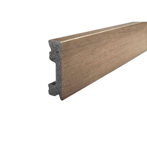 Plinthe Classic Click plastique chêne brun foncé