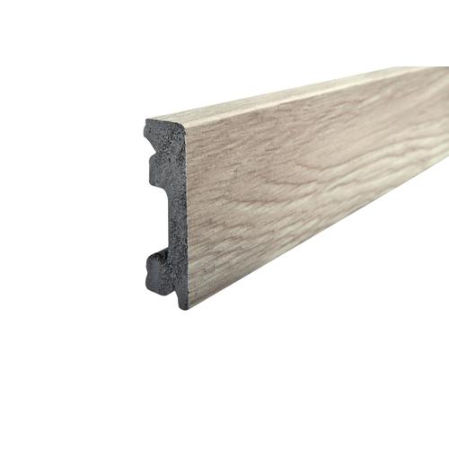 Kunststof plint Classic Click lichtgrijs eiken