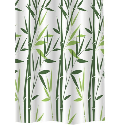 Allibert douchegordijn Bambou polyester 240x200cm