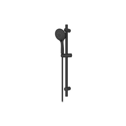 Colonne de douche AquaVive Irminio noir mat Ø 12cm