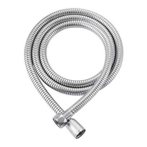 Flexible de douche AquaVive acier inoxydable chrome 200cm