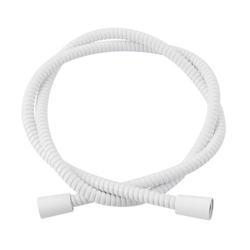 Flexible de douche AquaVive PVC blanc 150cm