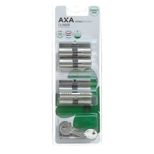 AXA dubbele profielcilinder 30-30 4st.
