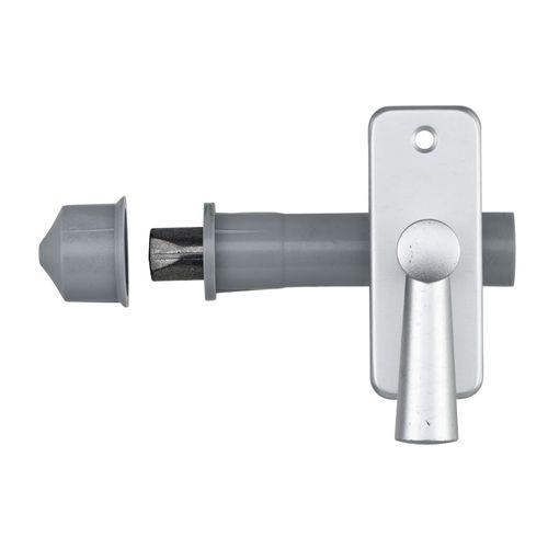 AXA inboorgrendel DM50 + sluitkom grijs