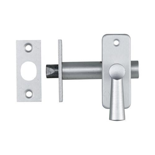 AXA inboorgrendel DM50 + sluitplaat grijs