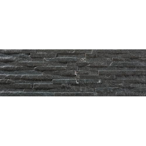 Wandtegel Centenar black 3D 17x52,3cm