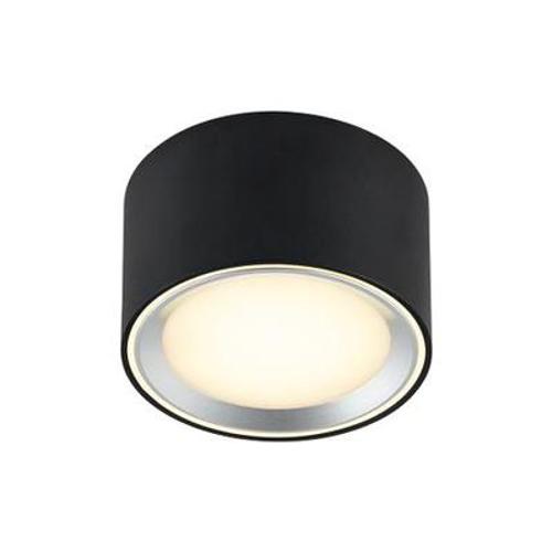 Nordlux plafondlamp Fallon zwart 6cm 8,5W