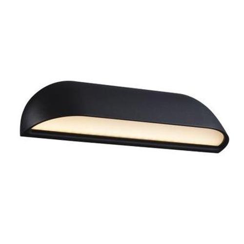 Nordlux wandlamp LED Front zwart opaal 8W