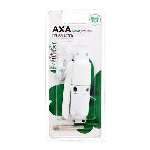 AXA deursluiter zamac wit