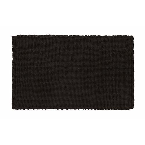 Future home badmat Bali zwart 50x80cm  polyester/katoen