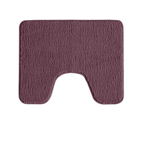 Tapis de toilette Future Home Polynésie violet polyester 50x50cm