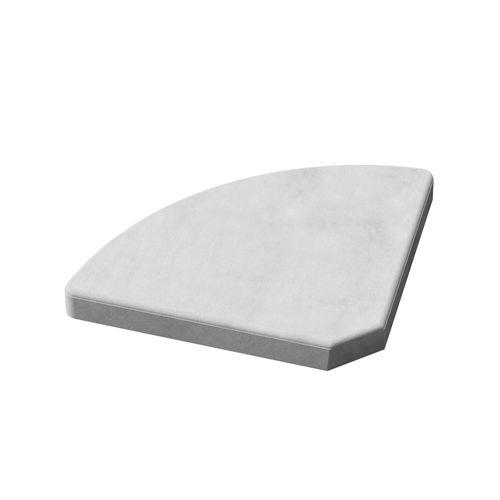 Plaque parasol Bisc Cinza 16kg gris