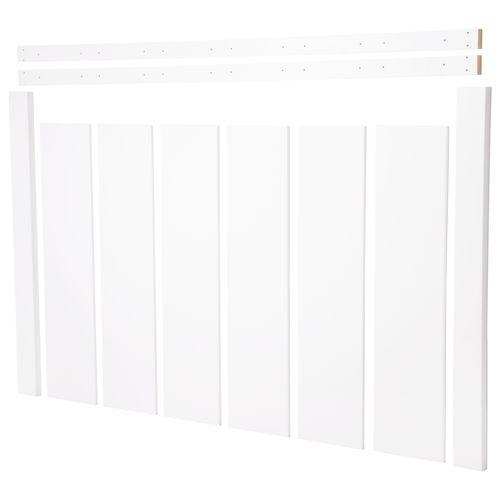 CanDo radiatorpaneel Preston wit 153x100cm