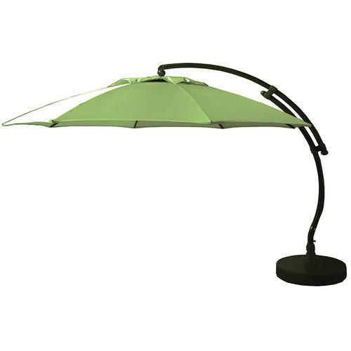 Parasol Sungarden Easy Sun XL vert olive + pied