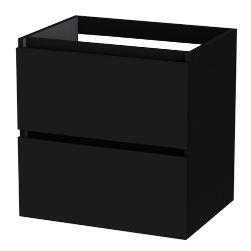 Meuble sous-lavabo Tiger Loft noir mat 60cm