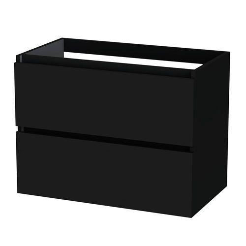 Meuble sous-lavabo Tiger Loft 80cm noir mat