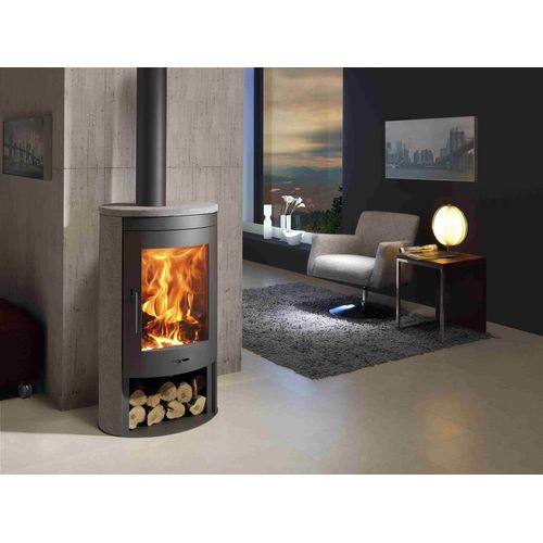 Panadero houtkachel Oval 3 Stones Eco Design 8,7kW