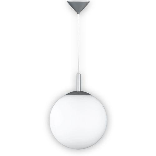 Fischer & Honsel hanglamp Bal opaal wit E27