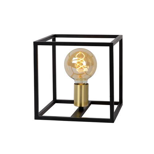 Lucide tafellamp Ruben zwart-goud