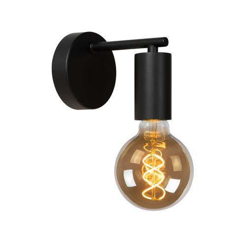 Lucide wandlamp Leanne zwart